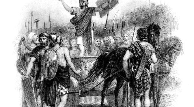 Loupeži, vraždění, drancování dávají lživý název říše