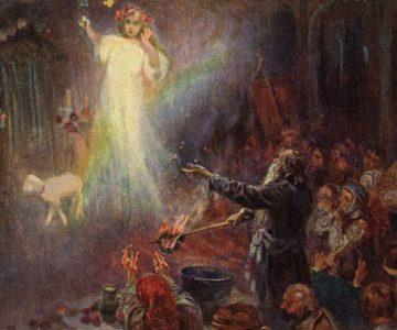 Představy o smrti (krajina a předci)